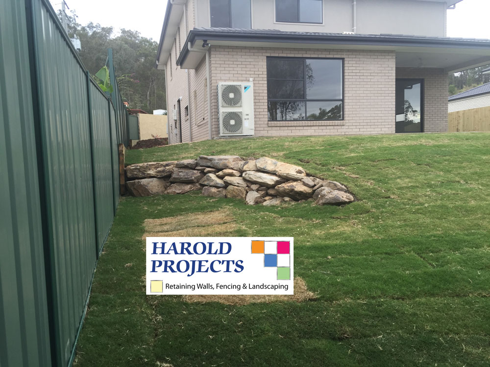 After - Colourbond Fence and Landscaping  - Harold Projects Bribane