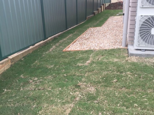 After - Colourbond Fencing-Landscaping - Harold Projects