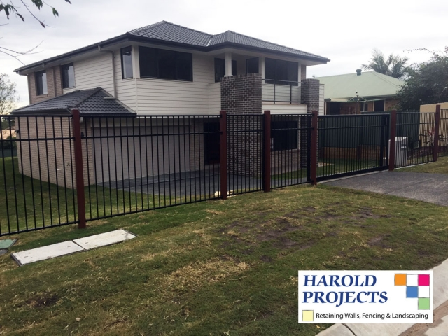 After - Fencing - Landscaping - Harold Projects