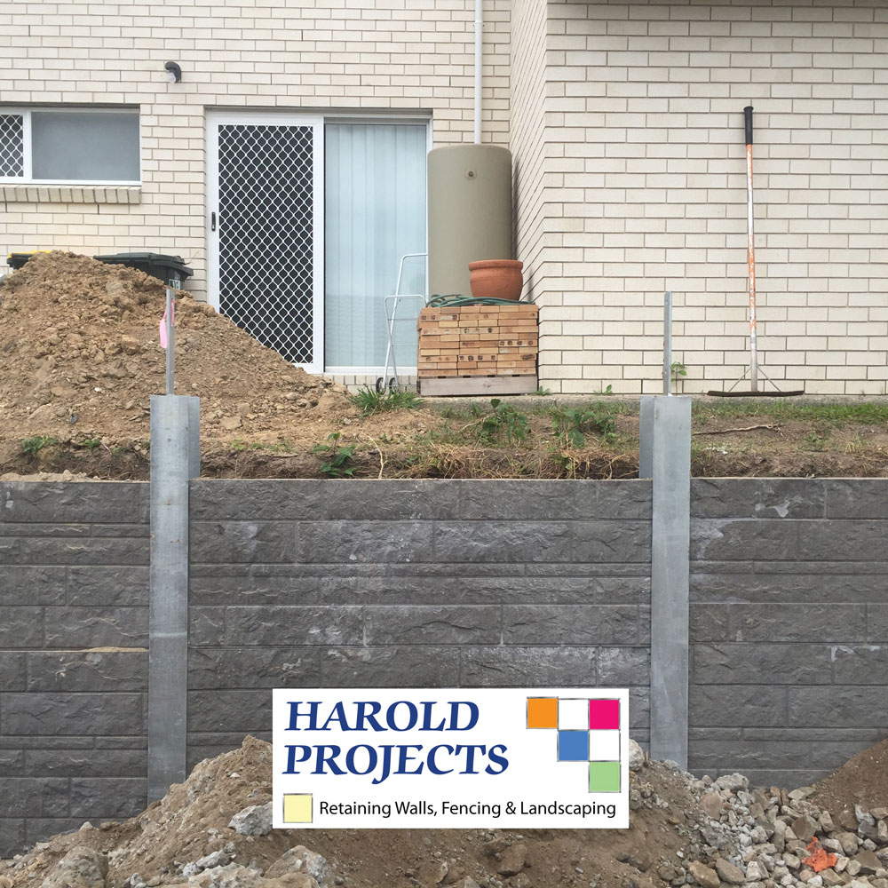 Retaining Walls - Harold Projects Fencing & Landscaping